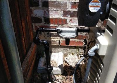 pool heater gas leak repair