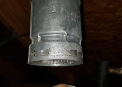 gas vent repair