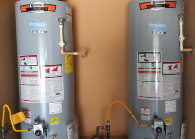 double water heater