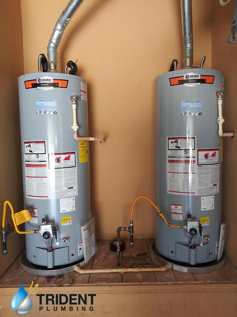 double water heater