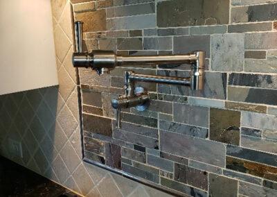installing custom kitchen sink