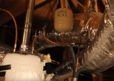 Replacing floating expansion tank in attic