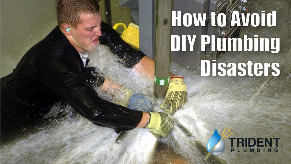 How to Avoid DIY Plumbing Disasters