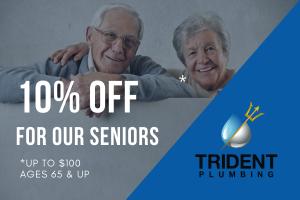 Seniors discount graphic